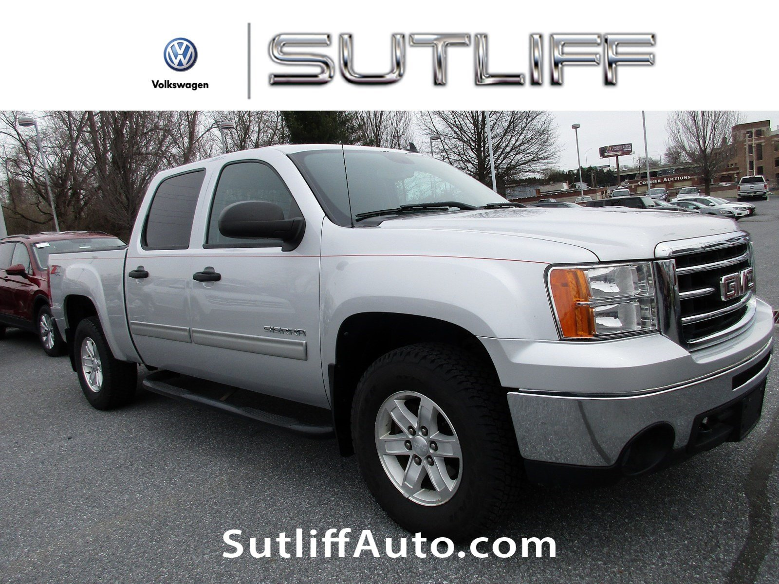 Pre Owned 2012 GMC Sierra 1500 SLE Crew Cab Pickup in Harrisburg