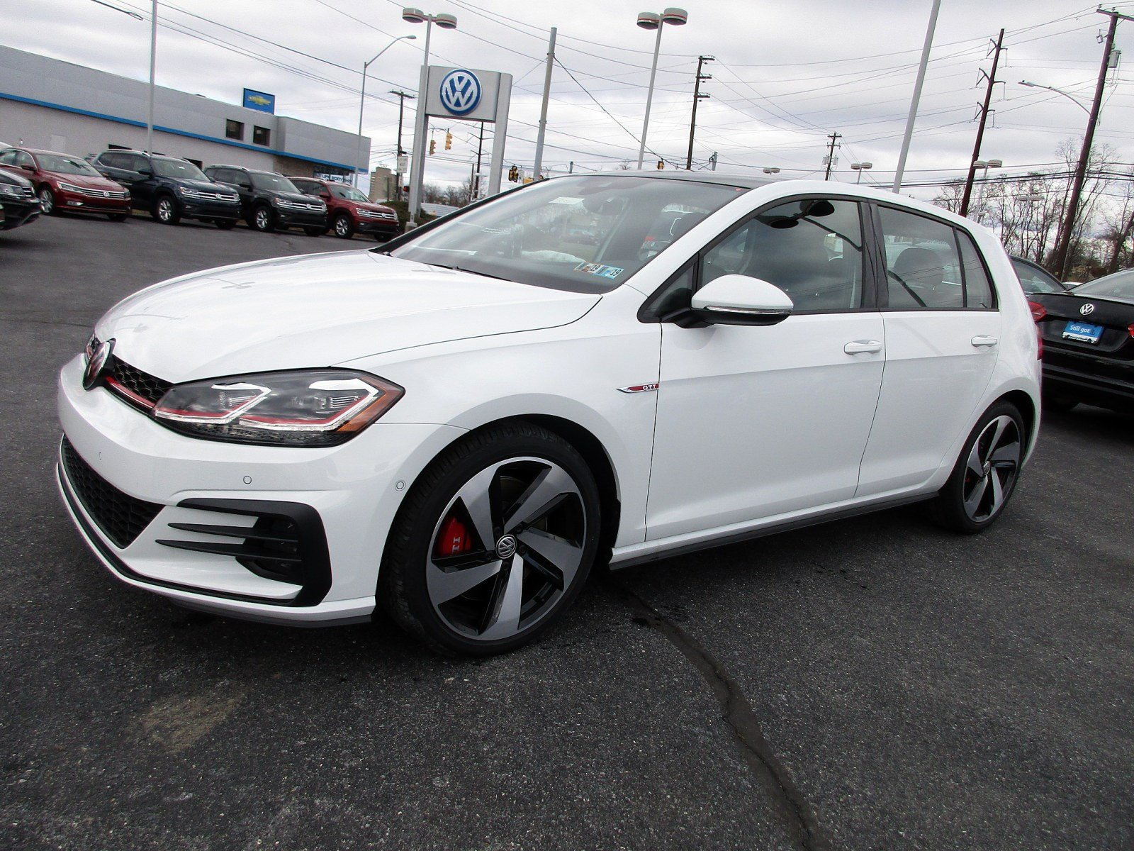New 2018 Volkswagen Golf GTI Autobahn Hatchback in Harrisburg