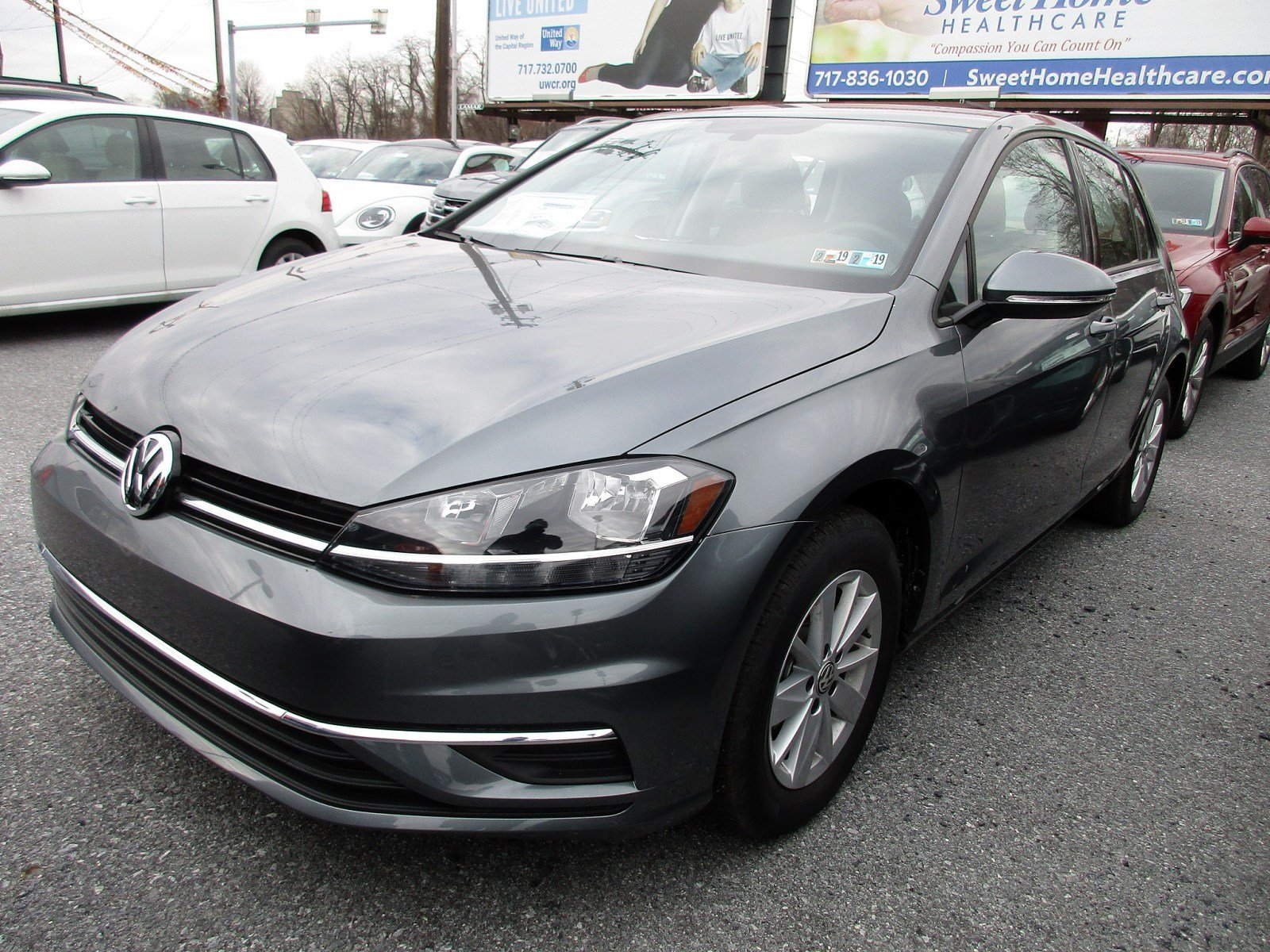 New 2018 Volkswagen Golf S Hatchback in Harrisburg