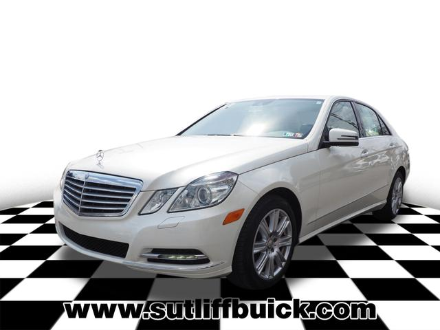 Pre-Owned 2013 Mercedes-Benz E-Class E 350 4MATIC®