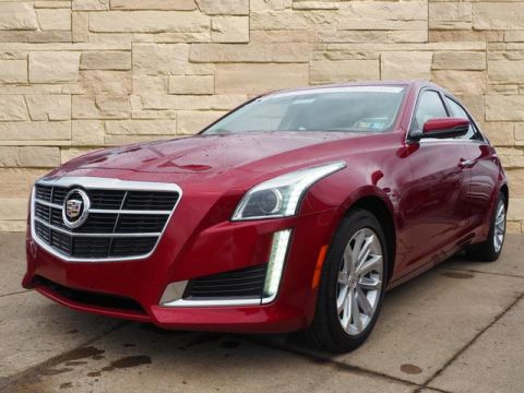 Pre-Owned 2014 Cadillac CTS 3.6l Luxury Collection-Navi