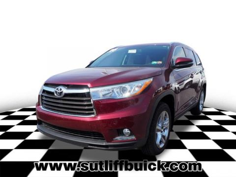 Pre-Owned 2016 Toyota Highlander Limited-Navi