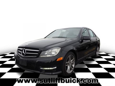 Pre-Owned 2014 Mercedes-Benz C-Class C 300 Luxury 4MATIC®
