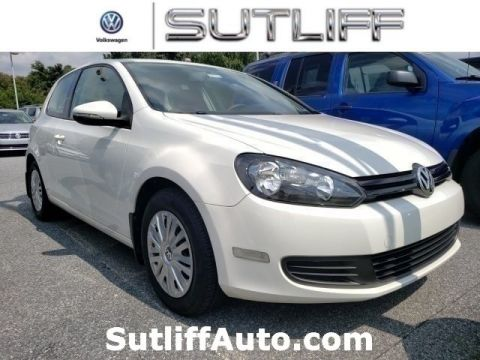 Certified Pre-Owned 2012 Volkswagen Golf 2.5L
